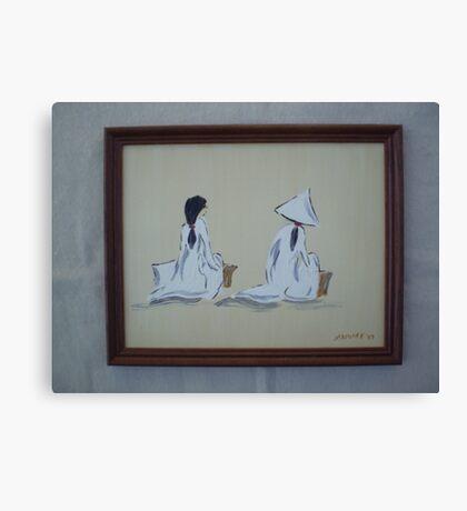 Viet Nam Women Canvas Print