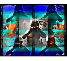 life through bombardment Photographic Print