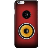 Speaker Phone Red iPhone Case/Skin