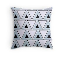 Double Triangle Throw Pillow  Throw Pillow
