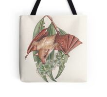 Queensland Blossom Bat Tote Bag