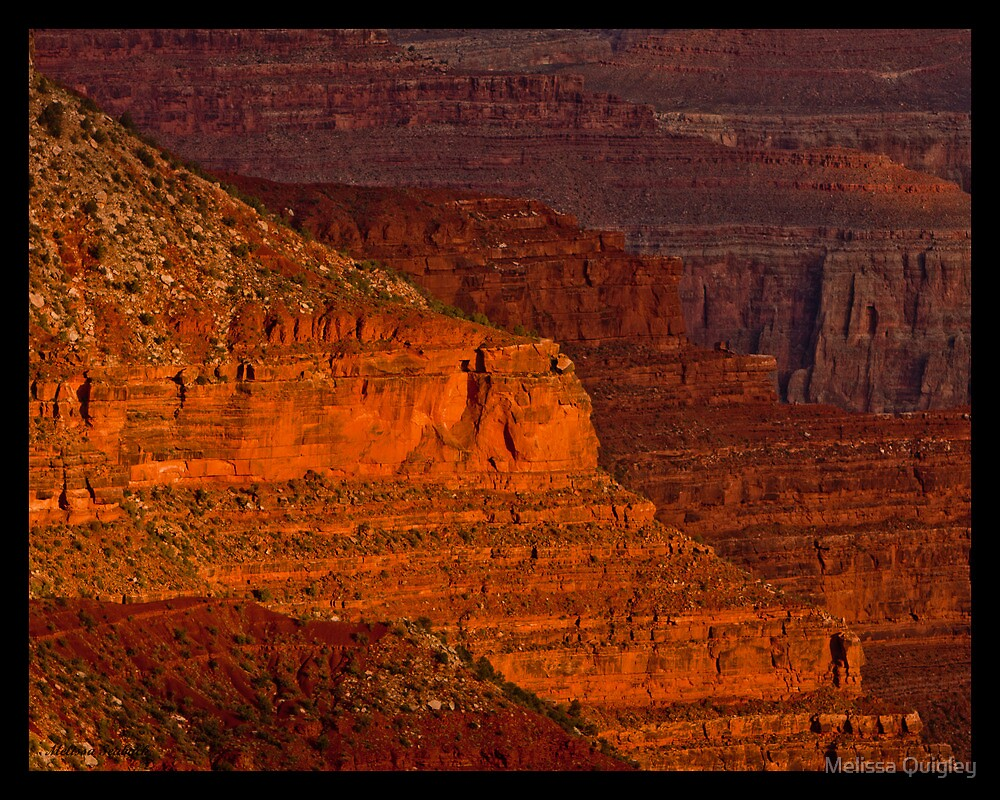Layers Through Time - Grand Canyon National Park by Melissa Seaback
