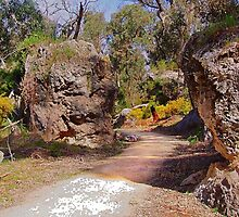 Walking towards a corner in the gorge HDR by georgieboy98