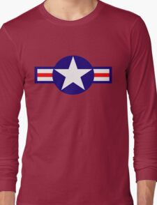 Aviation - US Army - Cool Star Long Sleeve T-Shirt