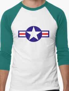 Aviation - US Army - Cool Star Men's Baseball ¾ T-Shirt