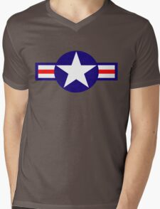 Aviation - US Army - Cool Star Mens V-Neck T-Shirt