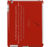 With You iPad Case/Skin