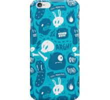 Ooh, monsters iPhone Case/Skin