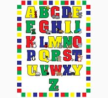 Animal Alphabet Poster (Primary Colors) Unisex T-Shirt