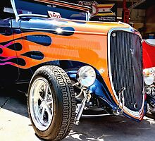 Ford Vintage Hot Rod  by Amy McDaniel