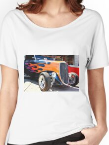 Ford Vintage Hot Rod  Women's Relaxed Fit T-Shirt