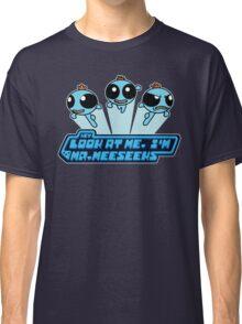 Meeseeks Puff Parody Classic T-Shirt
