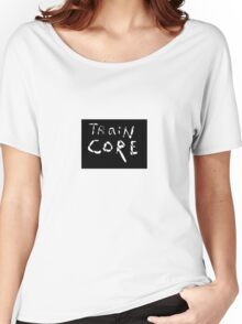 Fashionable Traincore Logo Clothing Women's Relaxed Fit T-Shirt