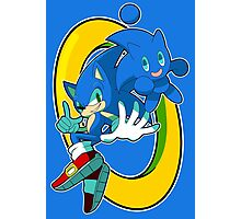 Sonic & Sonic Chao Photographic Print