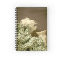 Mer de laine tricotée - Knitted wool sea Spiral Notebook