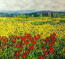 Zone des Fleurs by Allan P Friedlander