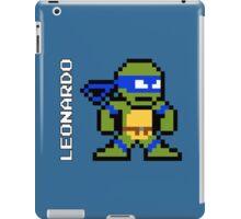 8-Bit TMNT- Leonardo iPad Case/Skin