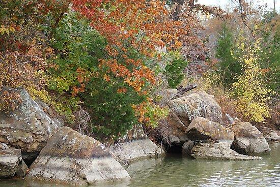Fall on Palo Pinto Lake by TxGimGim