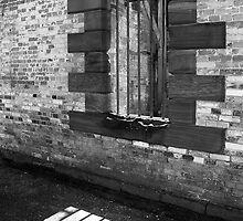 Prison Window, Port Arthur by Tony Cave