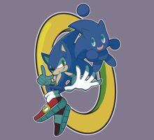 Sonic & Sonic Chao Kids Tee