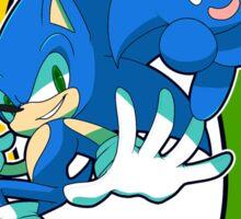 Sonic & Sonic Chao Sticker