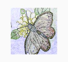 Butterfly, Colored Pencil Unisex T-Shirt