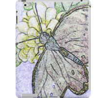 Butterfly, Colored Pencil iPad Case/Skin