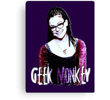 COSIMA GEEK MONKEY Canvas Print