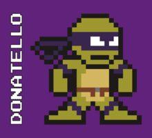 8-Bit TMNT- Donatello by VashCrow