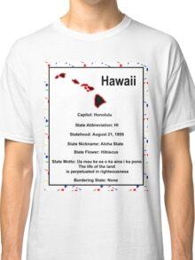 Hawaii Information Educational Classic T-Shirt