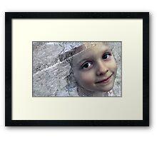 enfant de la renaissance Framed Print