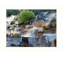Pagosa Springs Hot Springs Art Print