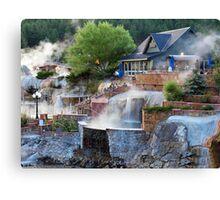 Pagosa Springs Hot Springs Canvas Print