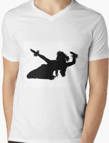 Hula dancer Mens V-Neck T-Shirt