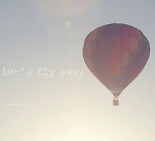 let's fly away in a hot air balloon by STUDIOCLAIRE