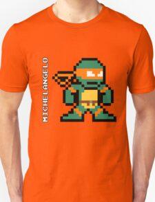 8-Bit TMNT- Michelangelo  T-Shirt