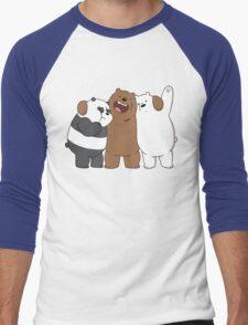 Bear Bros For Life Men's Baseball ¾ T-Shirt