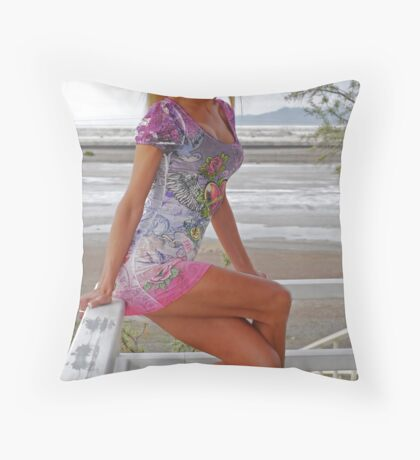 Dressed for Success Throw Pillow