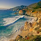 Rocky Creek Point, Big Sur, California by Maria Draper