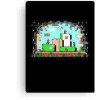 Glitch - Super Mario Bros. 3 Canvas Print