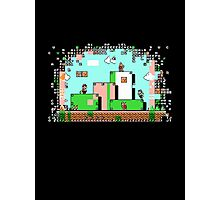 Glitch - Super Mario Bros. 3 Photographic Print