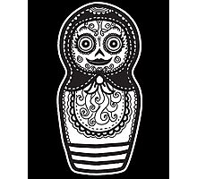 Day of the Dead Russian Doll Photographic Print