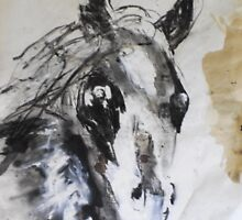 Quick sketch on Cup day by James Kearns