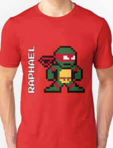 8-Bit TMNT- Raphael  T-Shirt