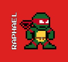 8-Bit TMNT- Raphael  Unisex T-Shirt
