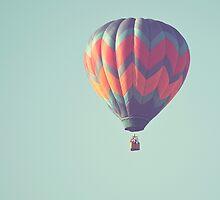 big boy blue hot air balloon by STUDIOCLAIRE