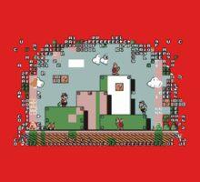 Glitch - Super Mario Bros. 3 Kids Tee