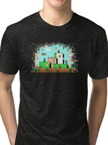 Glitch - Super Mario Bros. 3 Tri-blend T-Shirt
