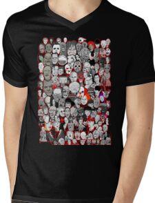 Titans of Horror Mens V-Neck T-Shirt