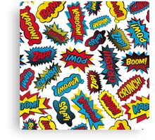 Super Words! Canvas Print